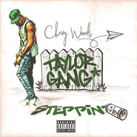 Steppin' album art