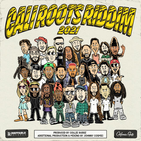 Cali Roots Riddim 2021 album art