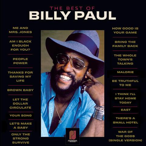 The Best Of Billy Paul album art