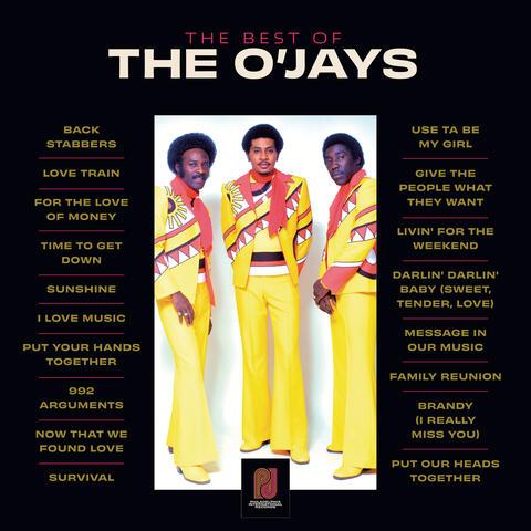 The Best Of The O'Jays album art
