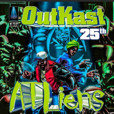 ATLiens (25th Anniversary Deluxe Edition) album art