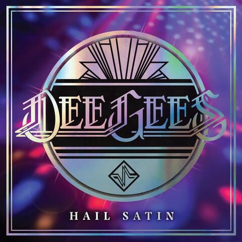 Dee Gees / Hail Satin - Foo Fighters / Live album art