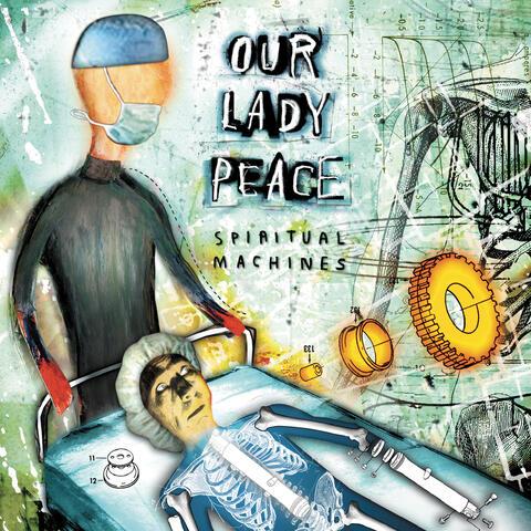 Spiritual Machines 20th Anniversary album art