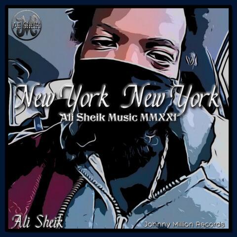 New York New York album art