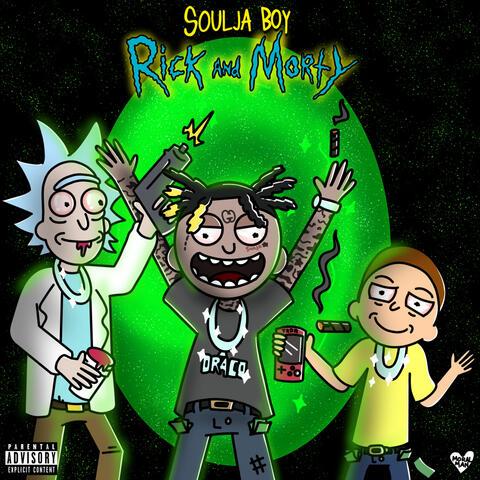 Rick & Morty album art
