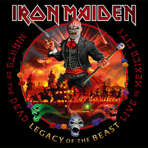 Nights of the Dead, Legacy of the Beast: Live in Mexico City album art