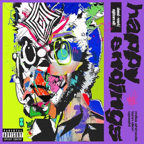 Happy Endings (feat. iann dior and UPSAHL) album art