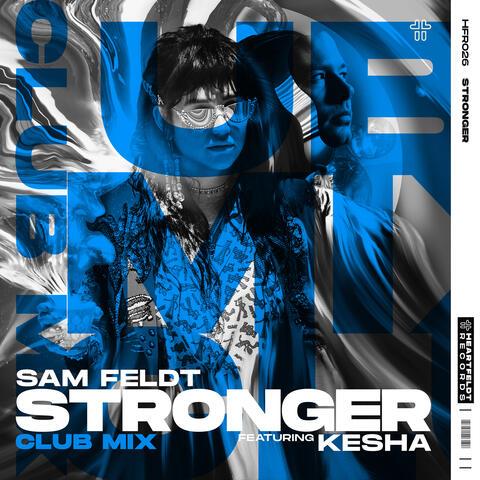 Stronger (feat. Kesha) album art