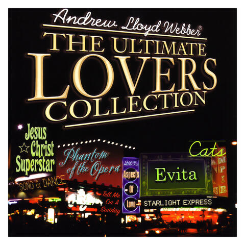 Andrew Lloyd Webber: The Ultimate Lovers Collection album art