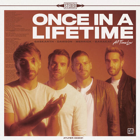 Once In A Lifetime album art