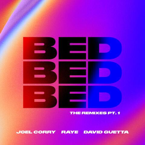 BED (The Remixes, Pt.1) album art