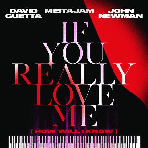If You Really Love Me (How Will I Know) album art