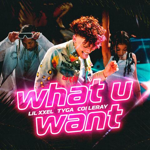 What U Want album art