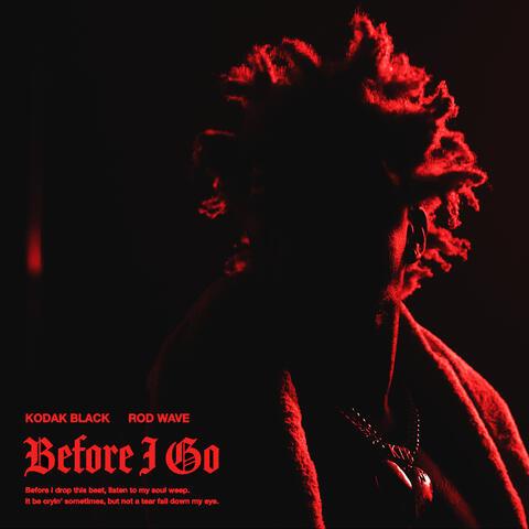 Before I Go (feat. Rod Wave) album art