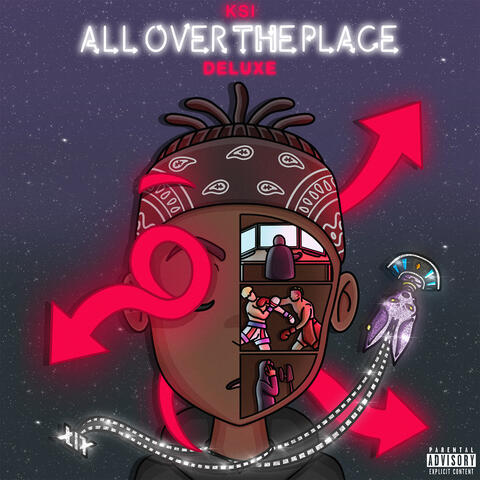 All Over The Place album art