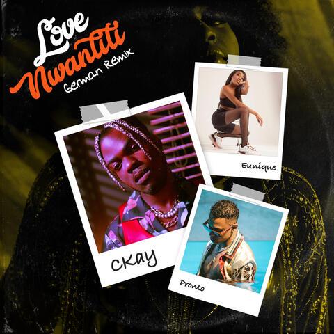 love nwantiti (feat. Pronto & Eunique) album art