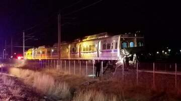 KCOL Morning's With Jimmy Lakey - RTD crash this morning Credit Denver Post