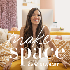 MAKE SPACE with Cara Newhart // Home Design + DIY