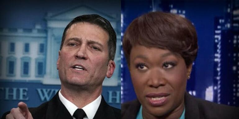 Democrat Hypocrisy on Ronny Jackson and Joy Reid