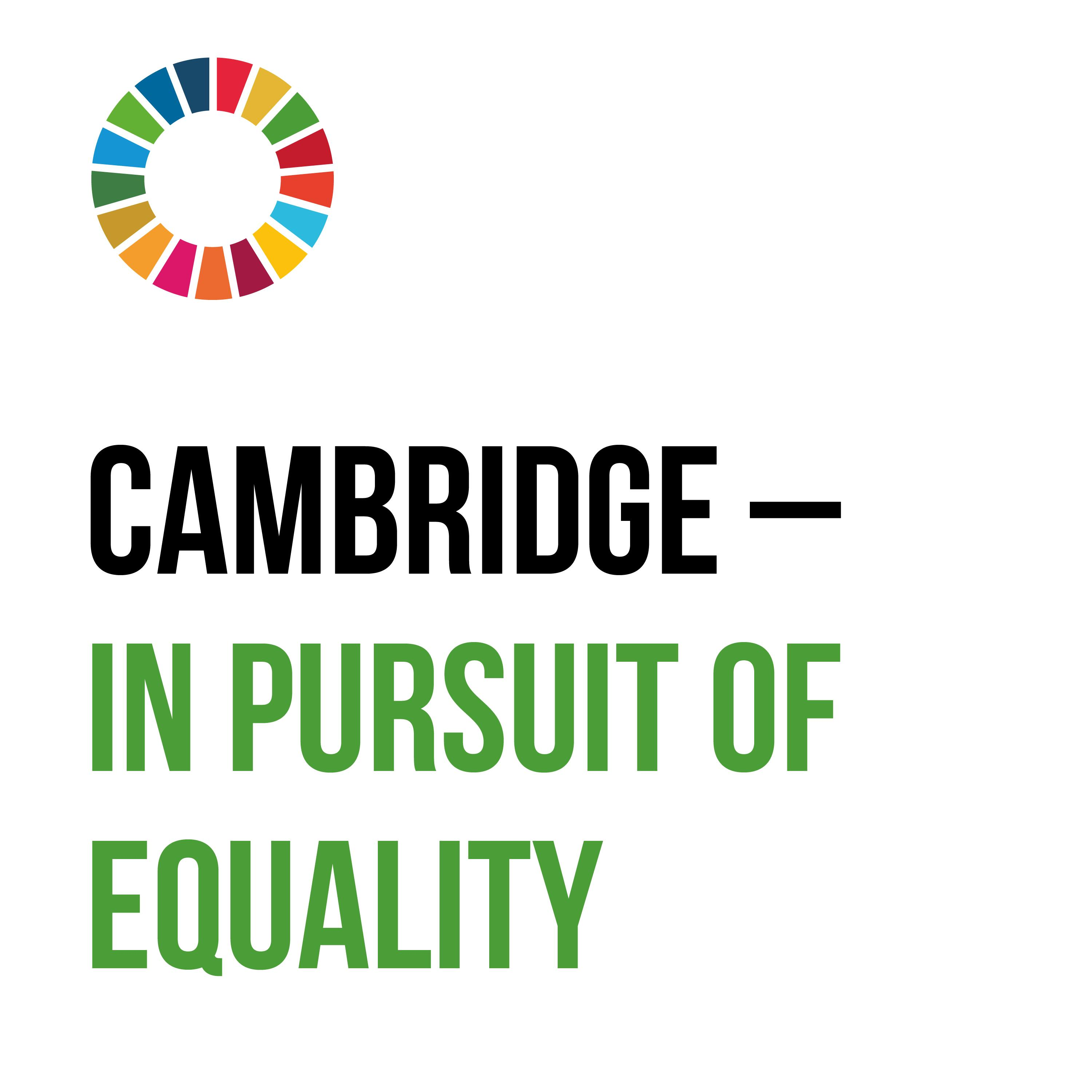 Cambridge - in pursuit of equality