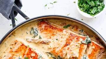 Nina Jackson - Recipe: I made Creamy Garlic Butter Tuscan Salmon