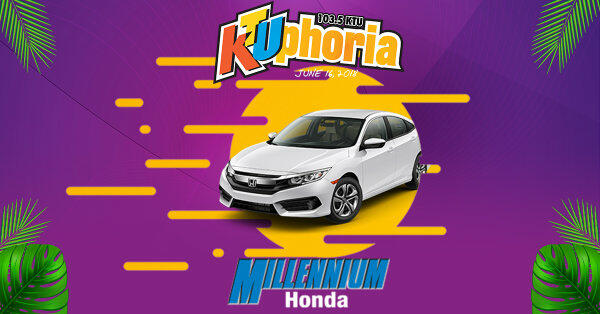 >Enter To Win A 2018 Honda Civic LX Automatic & Tickets To KTUphoria!