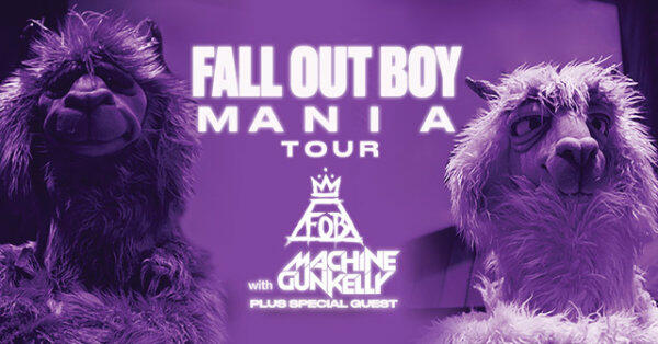 Register To Win FALL OUT BOY Tickets!