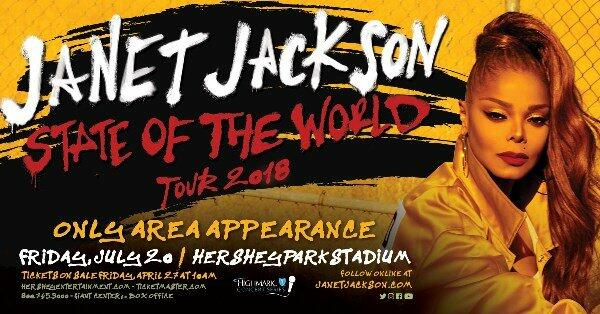 Register To Win Janet Jackson Tickets!