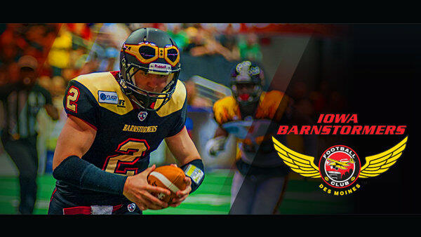 Win Tickets to the Iowa Barnstormers Vs. Green Bay Blizzard