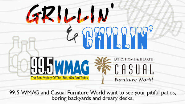 Grillin' and Chillin' Makeover with 99.5 WMAG & Casual Furniture