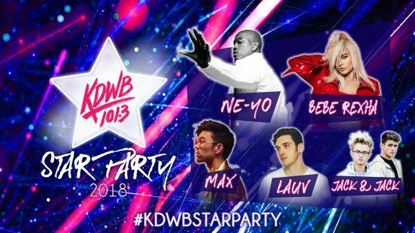 Win tickets to KDWB Star Party 2018!
