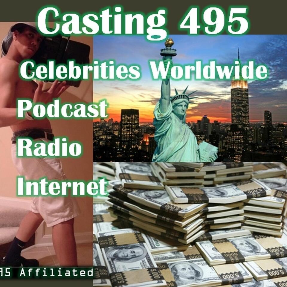Casting 495 Celebrities Worldwide