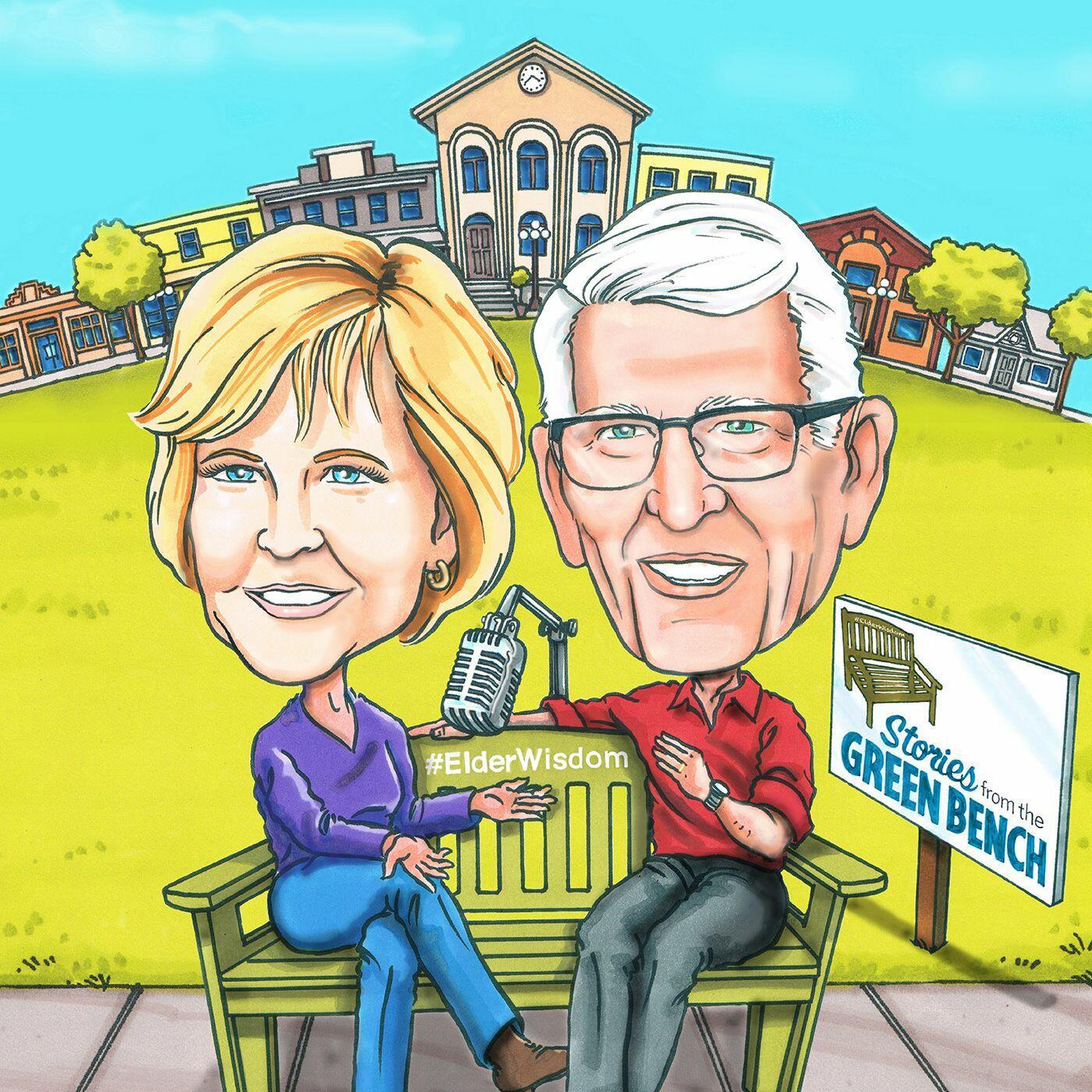 #ElderWisdom   Stories from the Green Bench
