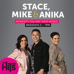 April 27 - Anika's Morgan Freeman Impression - Stace, Mike and Anika