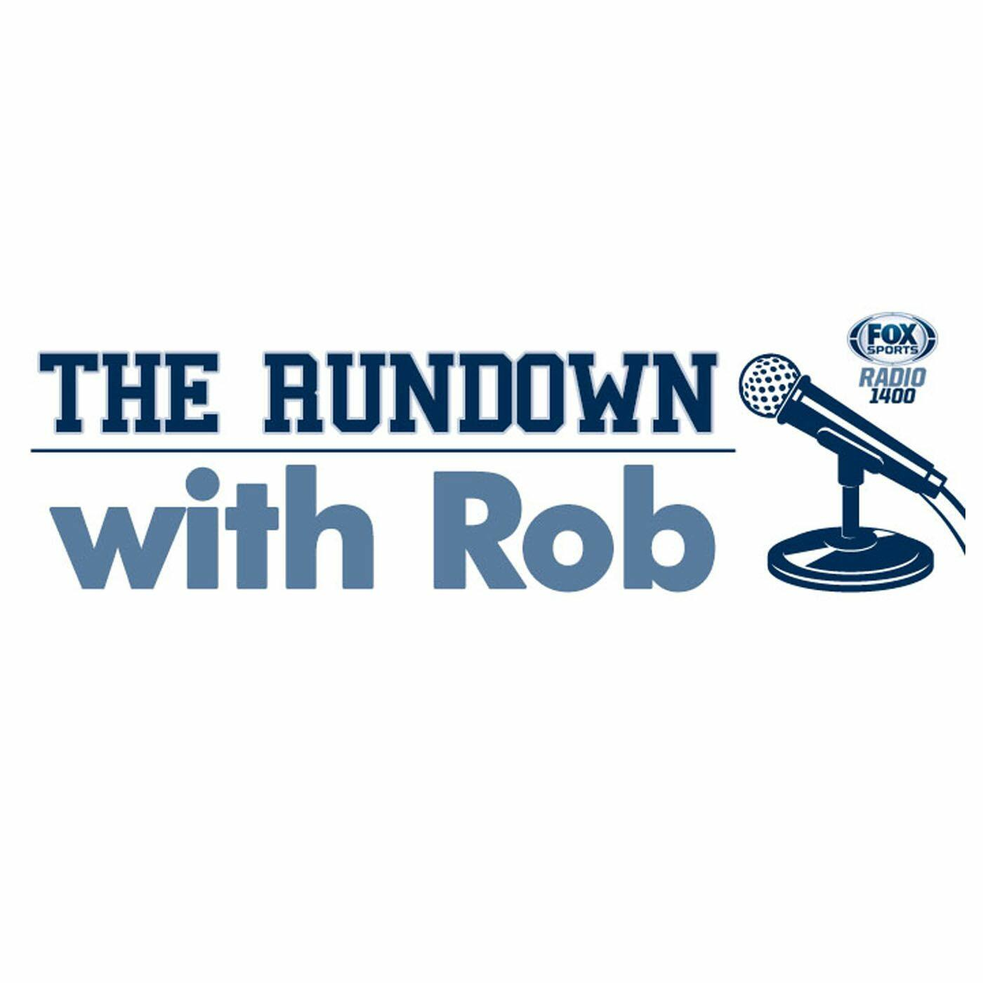 Listen to the The Rundown with Rob Sanders Episode - A look the top 25 on iHeartRadio | iHeartRadio