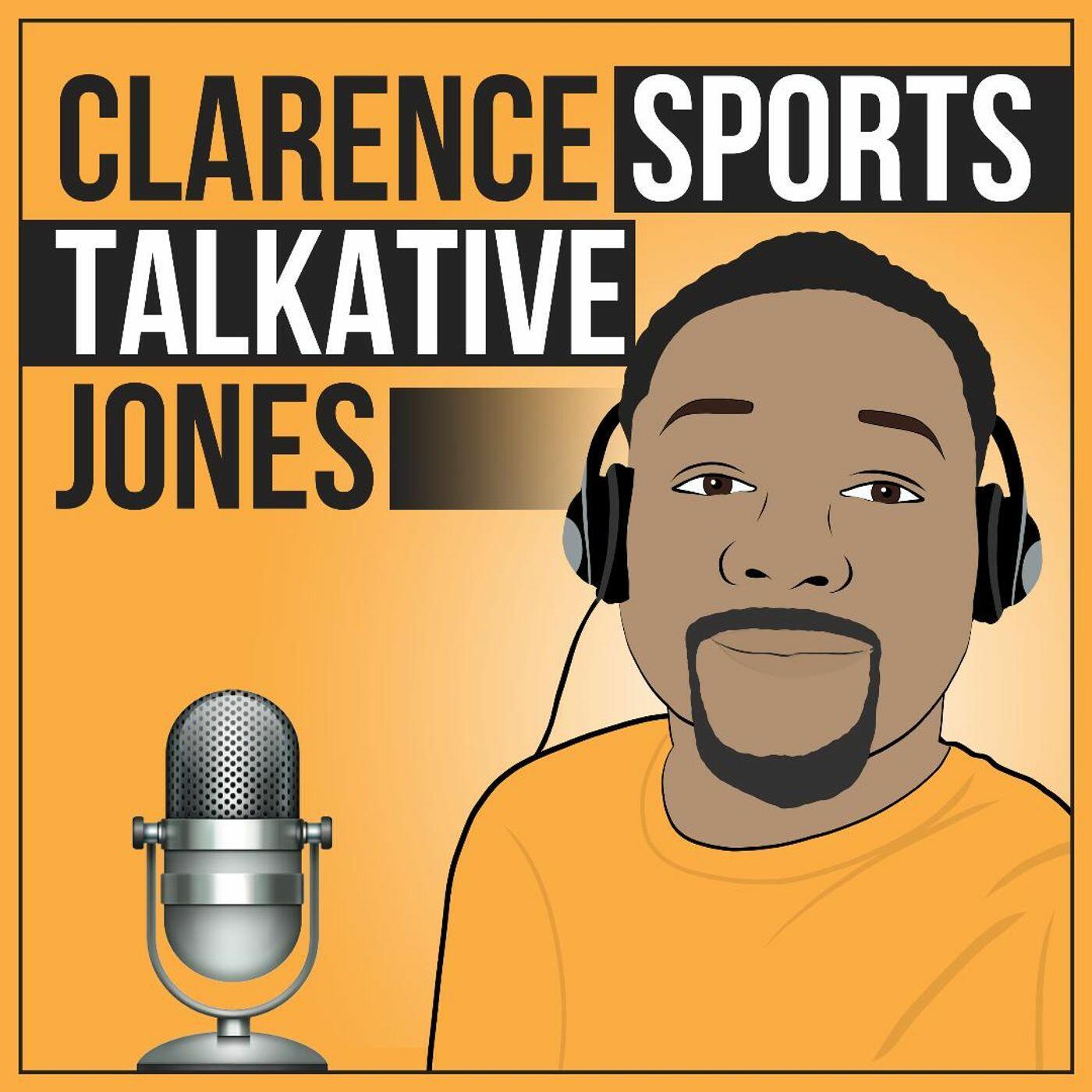 Clarence Sports Talkative Jones