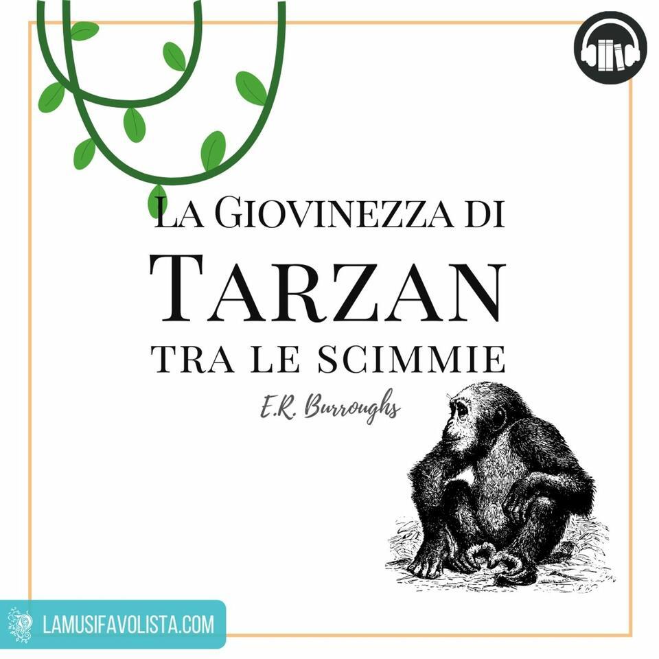 TARZAN - E.A. Burroughs ☆ Audiolibro ☆