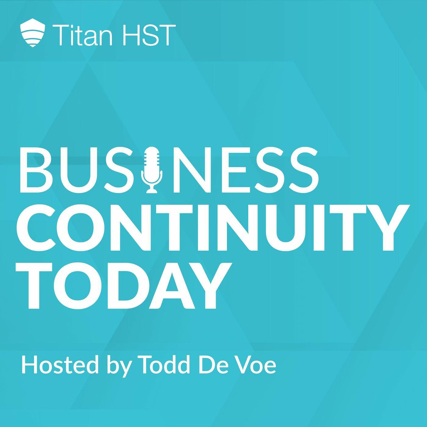 Business Continuity Today