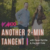 "6/12/2018 | Z100's ""Dave DeVille In The Morning"" with guest Visionary Lisa Thelen"