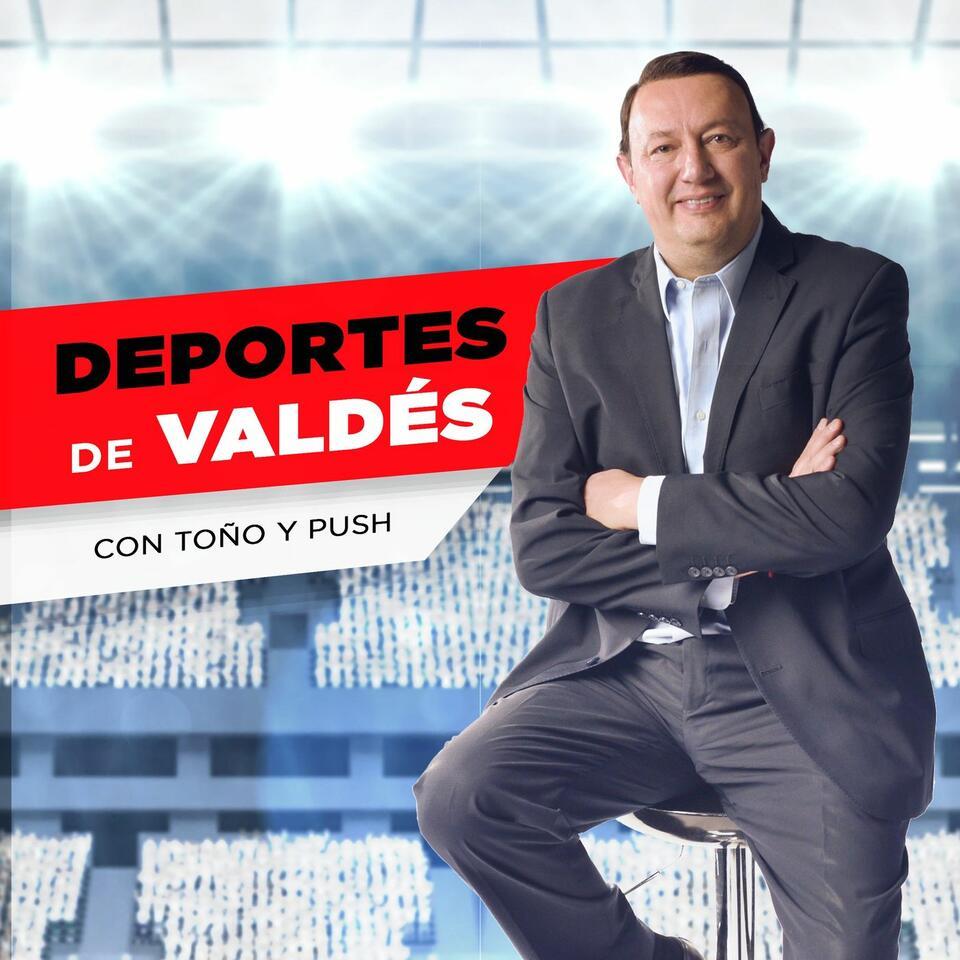 Deportes de Valdés. Con Push y Toño.