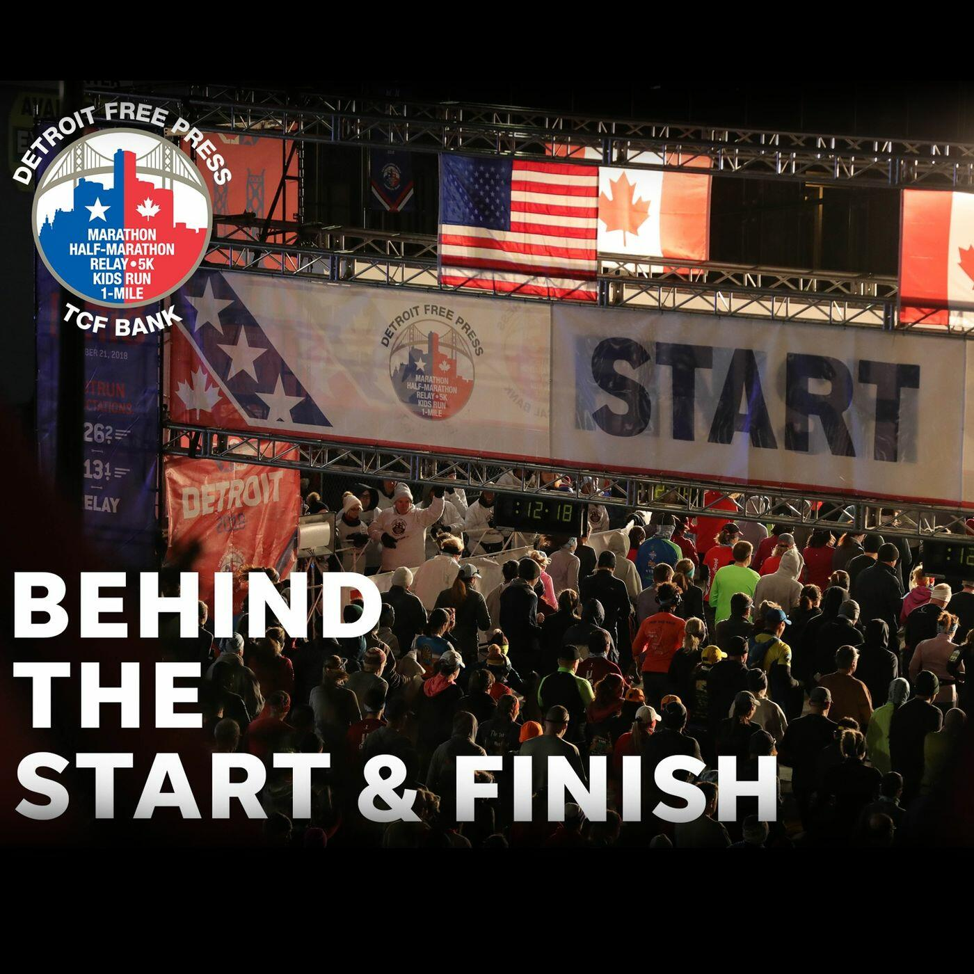 Behind the Start & Finish