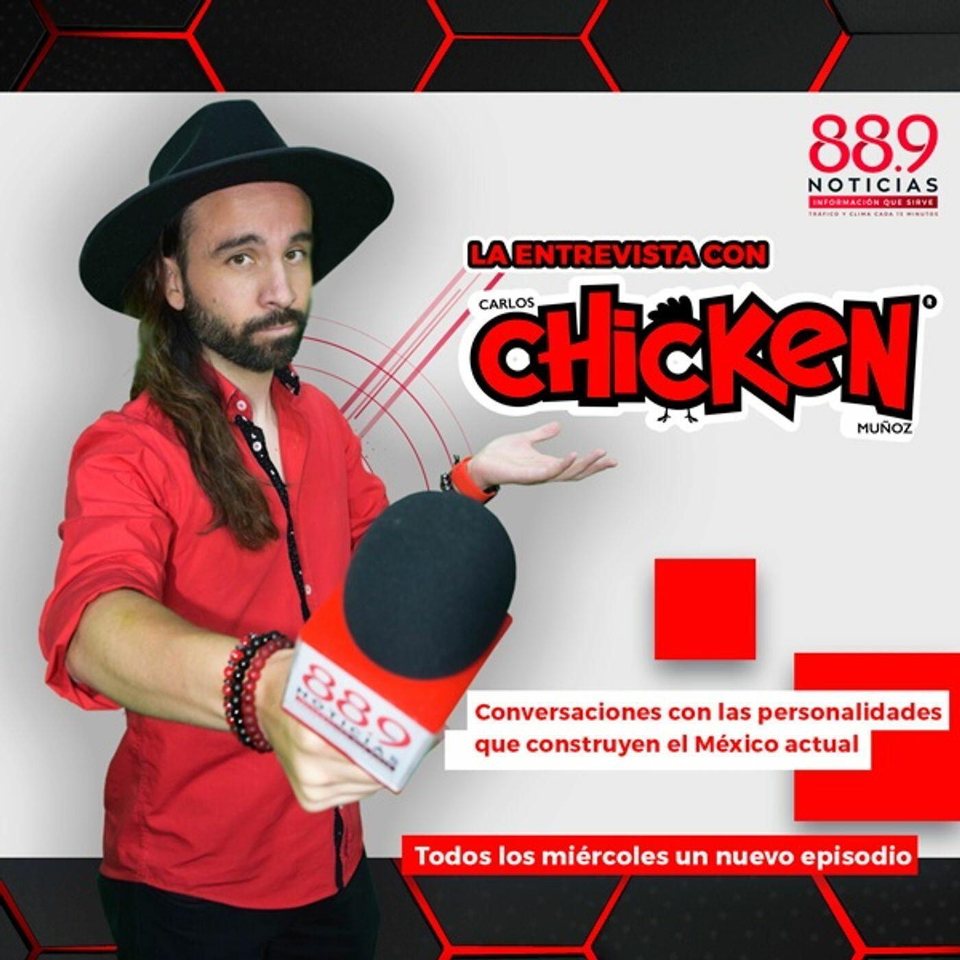 Listen to the La Entrevista con Carlos Chicken Muñoz Episode - Paola Espinosa con Carlos Chicken Muñoz | Entrevista on iHeartRadio | iHeartRadio