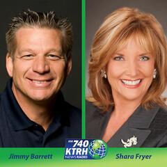 Texas Governor Greg Abbott Calls In Live - Houston's Morning News w/ Shara & Jim