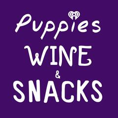 Puppies Wine and Snacks