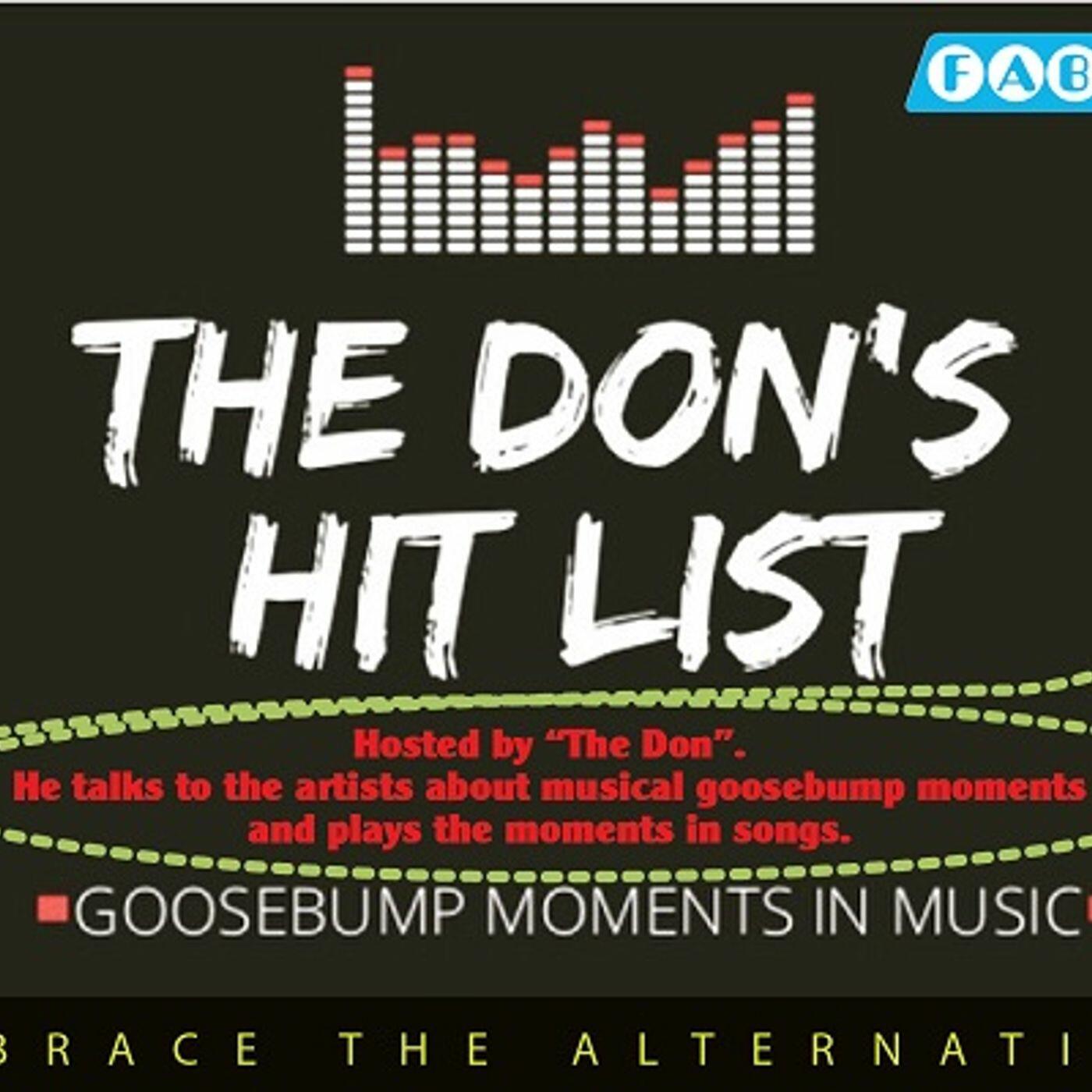The Don's Hit List on FAB Radio International