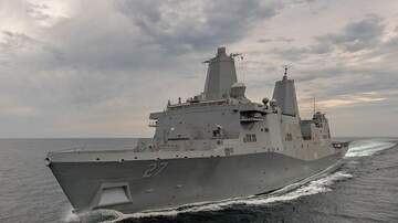 Mark Mason - US Deputy. Sec. Of Defense on USS Portland
