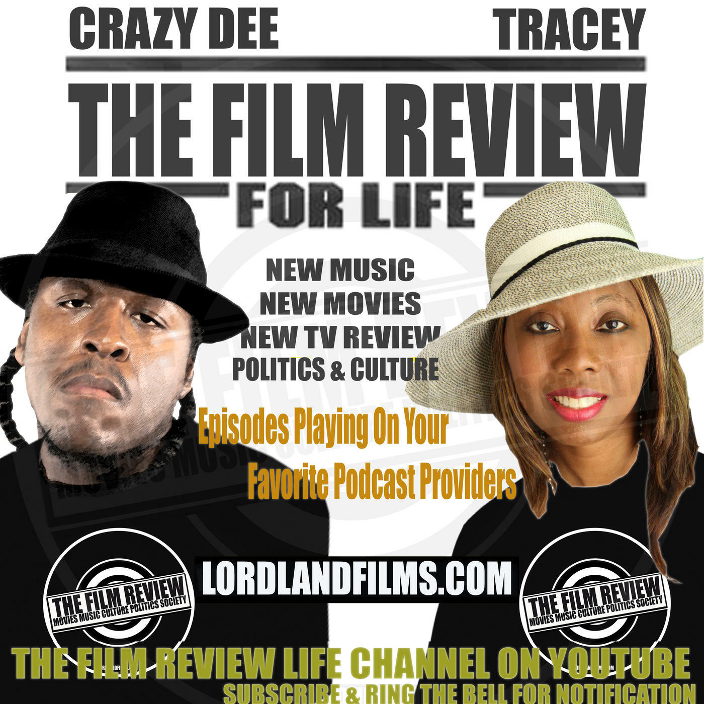 The Film Review: Movies Music Culture Politics Society Podcast | #TFRPodcastLive