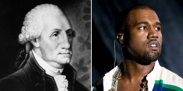 Kanye West or George Washington?