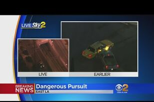 Crazy California Pursuit Goes Underground