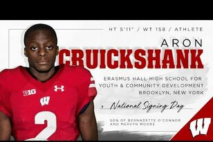 Spring Football 1-on-1: Aron Cruickshank